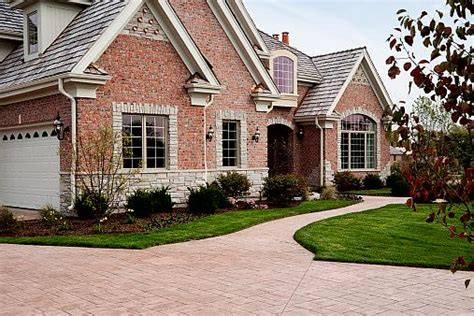 removing calcium deposits from a brick driveway how