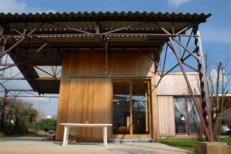 Hangar En Bois Prix by Maison Hangar Bois Une Maison Bois Atypique Prix Et Photos