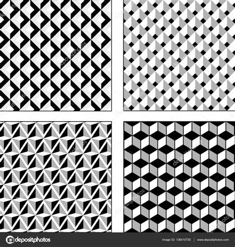 ilusiones opticas en blanco y negro vector set ilusiones opticas blanco y negro textura