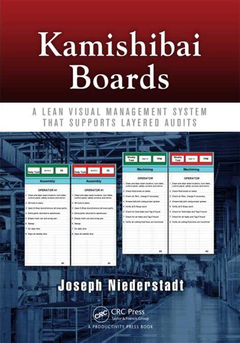 Kamishibai Card Template by Kamishibai Boards A Lean Visual Management System That