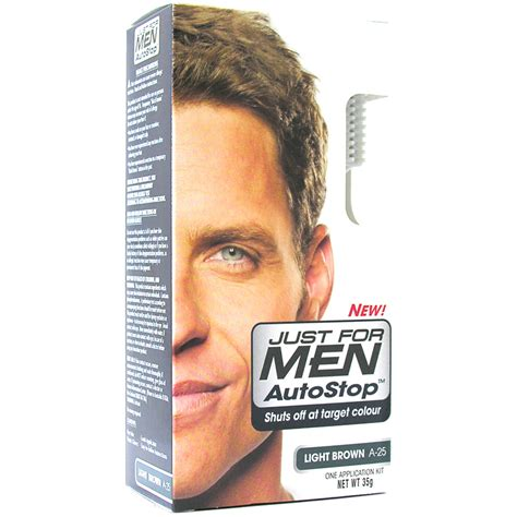 just for men autostop men just for autostop hair colourant choice of colours