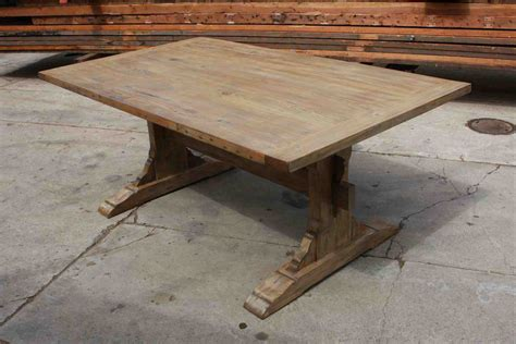 dining room table reclaimed wood peenmedia com rustic trestle dining room tables peenmedia com