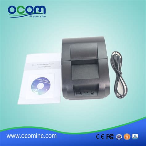 cheap receipt printer with templates cheap thermal receipt pos printer for bill printing ocpp 58z