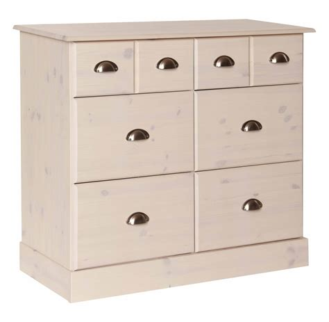 Low Wide Chest Of Drawers White by Low White Chest Drawers