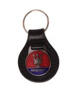 Maserati Keyring Maserati Classic Badge Keyring Classic Car Keychains