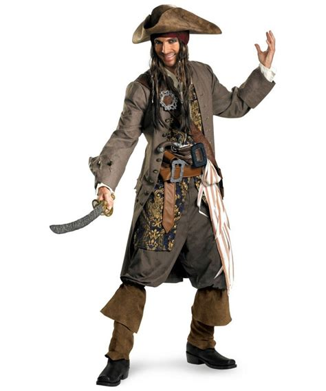 how to create a captain jack sparrow pirate costume adult captain jack sparrow pirate disney costume