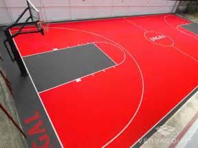 Backyard Basketball Court Cost Versacourt Indoor Outdoor Amp Backyard Basketball Courts