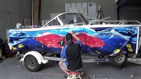 bowrider boat wraps boat graphic wrap quintrex freedom sport graphic wraps