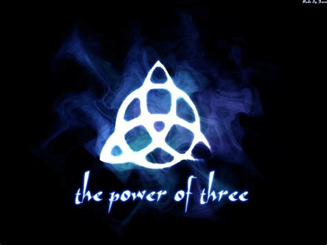 Power Of Three the power of three by dean101 on deviantart