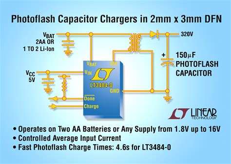 photoflash capacitor charging circuits photoflash capacitor charger ic 28 images high voltage capacitor charger ic 28 images