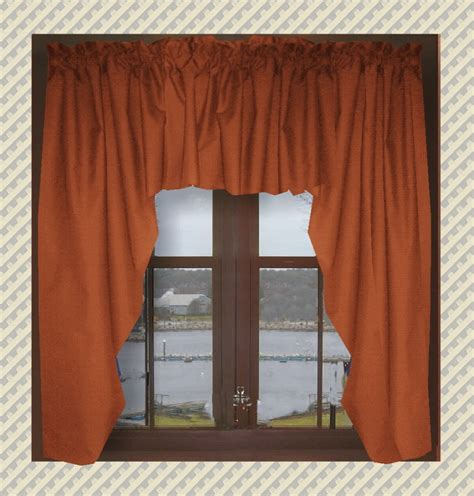 Black Swag Valance Solid Colored Swag Window Valance In Black Purple