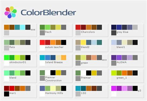 matching color schemes top best web color combinations wallpapers