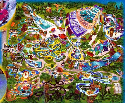 water country usa map theme park brochures water country usa theme park brochures