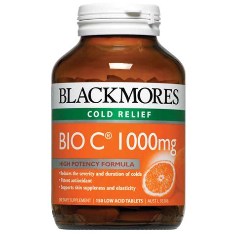 Blackmores Vitamin C 1000mg Buy Blackmores Bio C 1000mg 150 Tablets Vitamin C