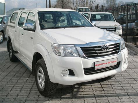 Toyota Up Hilux Used 2012 Toyota Hilux Up Photos 2700cc Gasoline