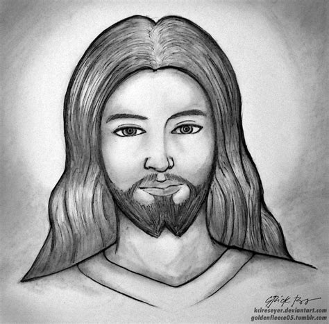 Drawing Jesus by Jesus By Kcireseyer On Deviantart