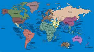 world map with each country name fab entertainment check out the map that reveals what