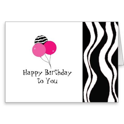 printable birthday cards black and white happy birthday card black and white www imgkid com the
