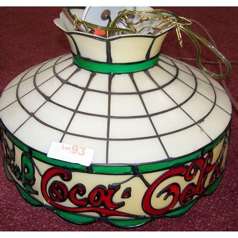 coca cola l shade coca cola tiffany style plastic lamp shade