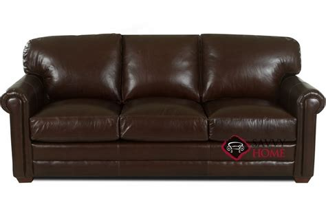 cassidy leather sofa by klaussner is fully customizable by