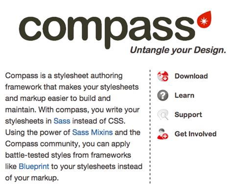 tutorial compass css using compass and sass for css in your next project