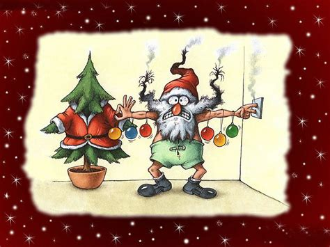 free christmas desktop wallpapers funny santa wallpapers