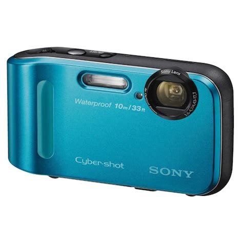 Kamera Sony Cybershot Waterproof sony dsc tf1 l 16 1 mp cyber waterproof digital 2 7 quot screen 4x optical zoom 5x
