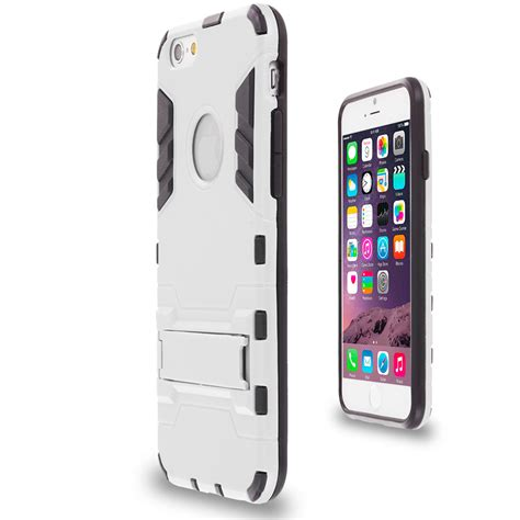 Iphone 7 Plus Transformer Robot Stand for apple iphone 6 6s hybrid slim transformer armor kickstand stand cover ebay