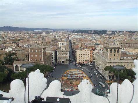 terrazza delle quadrighe roma vista dalla terrazza delle quadrighe picture of