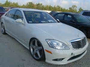 2008 Mercedes S550 Amg For Sale Mercedes For Sale Wrecked Repairable Cars