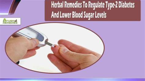 ppt herbal remedies to regulate type 2 diabetes and