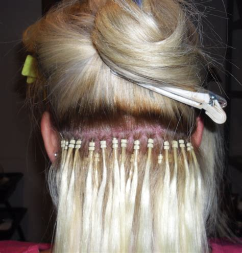 how to put in bead extensions image gallery microbead extensions