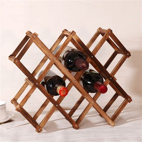 red wine rack wooden red wine rack 3 6 10 bottle holder mount bar