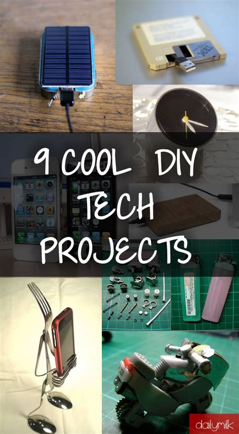 cool diy project 9 cool diy tech projects to impress your friends dailymilk