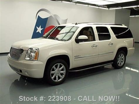 manual cars for sale 2010 gmc yukon navigation system sell used 2010 gmc yukon xl denali awd sunroof nav dvd 20 quot wheels texas direct auto in stafford