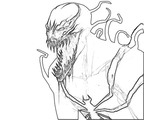 free printable venom coloring pages free coloring pages of s venom