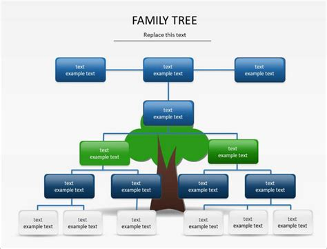 powerpoint family tree template 10 free sle exle