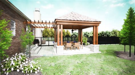 covered outdoor kitchen cost covered patio design pictures covered patio company