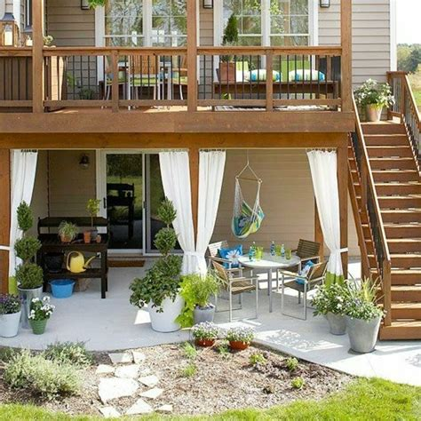 Terrasse 1 Stock by Sch 246 Ner Garten Und Toller Balkon Gestalten Ideen Und