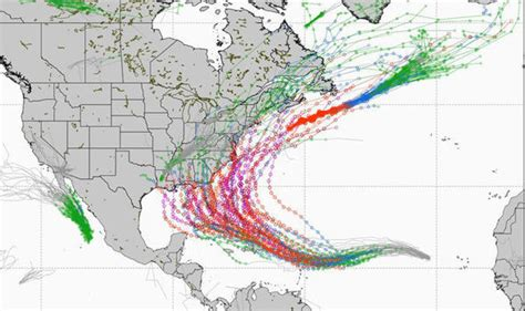 hurricane irma hit date hurricane irma path in atlantic to reach