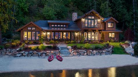 house mountain mountain architects hendricks architecture idaho lake house in sandpoint idaho