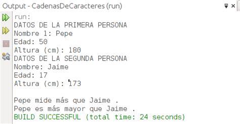 java comparar cadenas de caracteres tutorial 5 java cadenas de caracteres