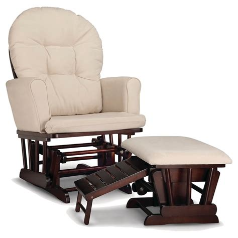 upholstered glider and ottoman set graco parker semi upholstered glider and nursing ottoman