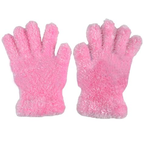 8 Pairs Of Mittens And Gloves by 3 Pairs Of Soft Feather Feel Magic Gloves
