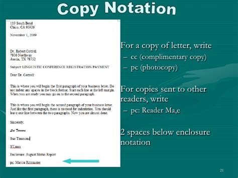 Business Letter Attachment Notation letter writing essentials