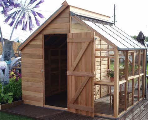 House Shed Combo by Greenhouse Lean To Shed Plans Quotes