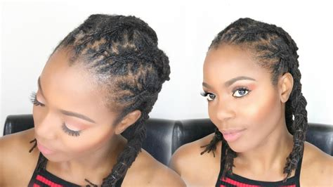 Loc Hairstyles For Medium Locs by And Uneven Dread Styles 25 Best Ideas About Pretty