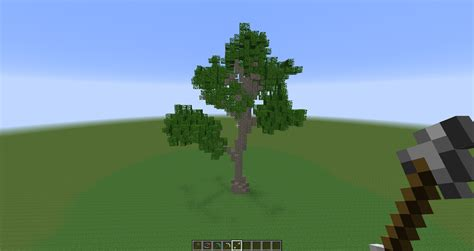 how to make small trees how to make custom trees minecraft