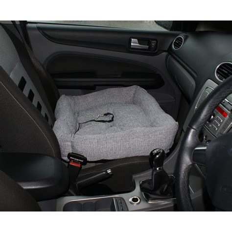 car bed car seat me my pet dog puppy car seat bed comfort travel cushion