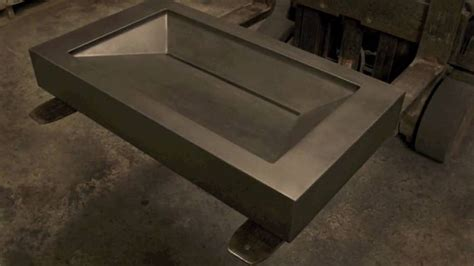 concrete apothecary sink molds 1000 images about slot drain infinity sinks on pinterest